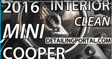 mini cooper interior clean